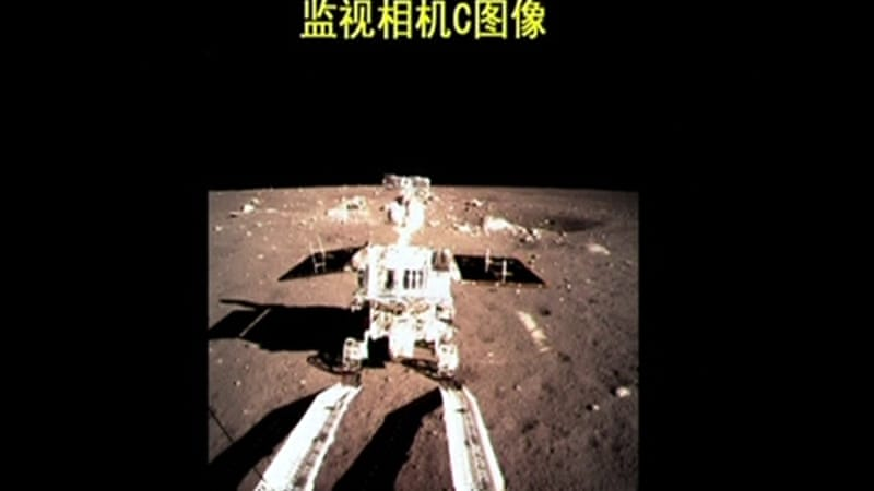"""Jade Rabbit"" is China's first moon rover [Reuters]"