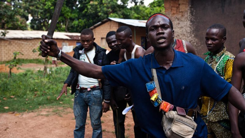 Anti-Balaka fighters want amnesty in return for laying down their weapons [AFP]