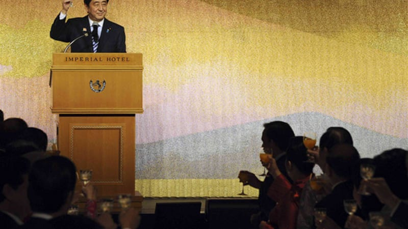 Abe and ASEAN leaders agreed at Tokyo summit for the need for freedom of the high seas and skies [Reuters]