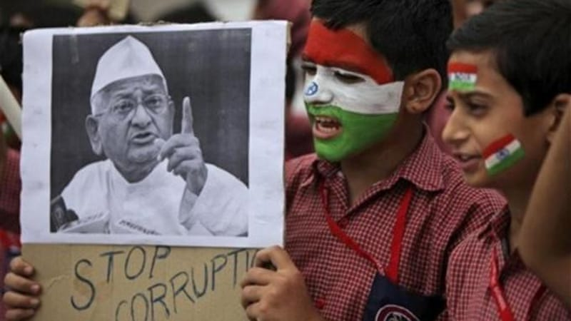Anna Hazare has been on fast since December 10, demanding passage of the bill