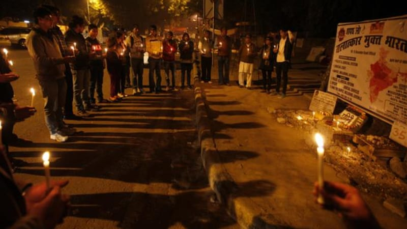 The gang-rape triggered protests and forced the government to enact stricter laws [AP]