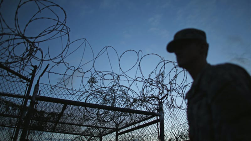 The transfer brings the total prisoner population at the US base in Cuba to 154 [AP]