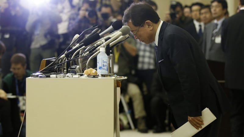 Outgoing Governor Naoki Inose said he did not understand how 'strict' politicians had to be [Reuters]