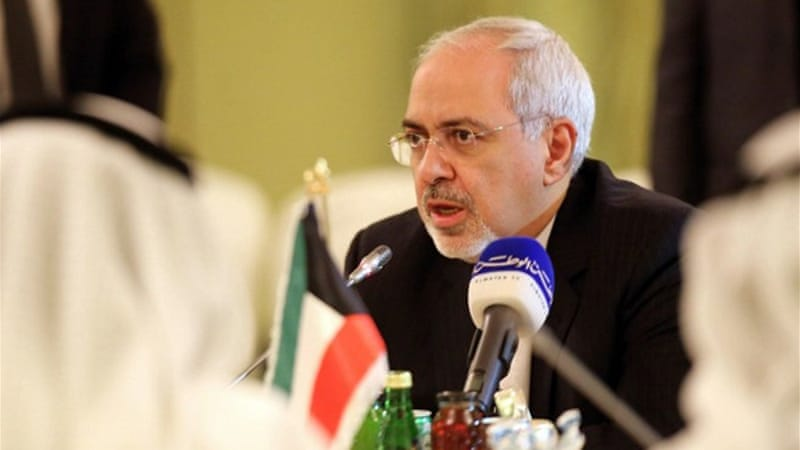 Zarif has said the nuclear deal should not be viewed as a threat to Gulf Arab countries [AFP]