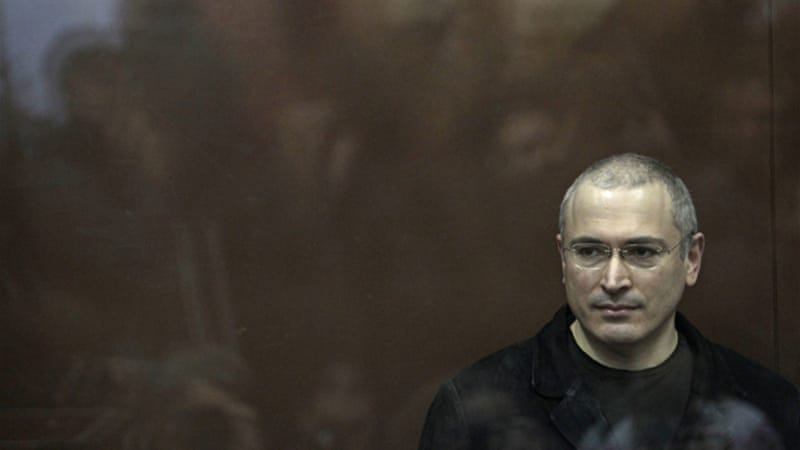 Khodorkovsky was pardoned by President Putin after more than a decade in prison [AP]