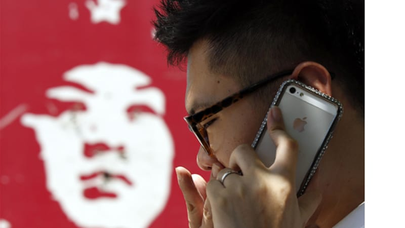 Android phones are more popular in China because they are cheaper and have more applications [Reuters]