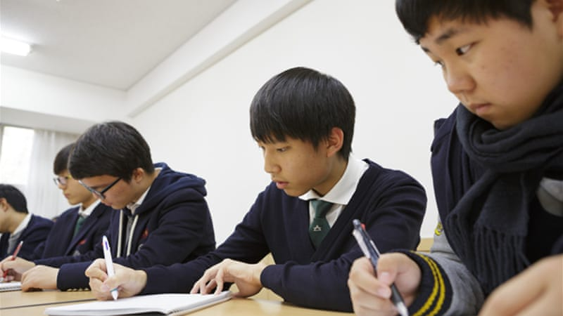 South Korean students wracked with stress | US & Canada ...