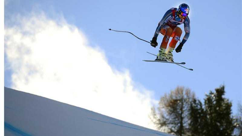 Svindal clocked one minute, 54.08 seconds to finish 0.39 seconds ahead of Hannes Reichelt of Austria.  [AFP]