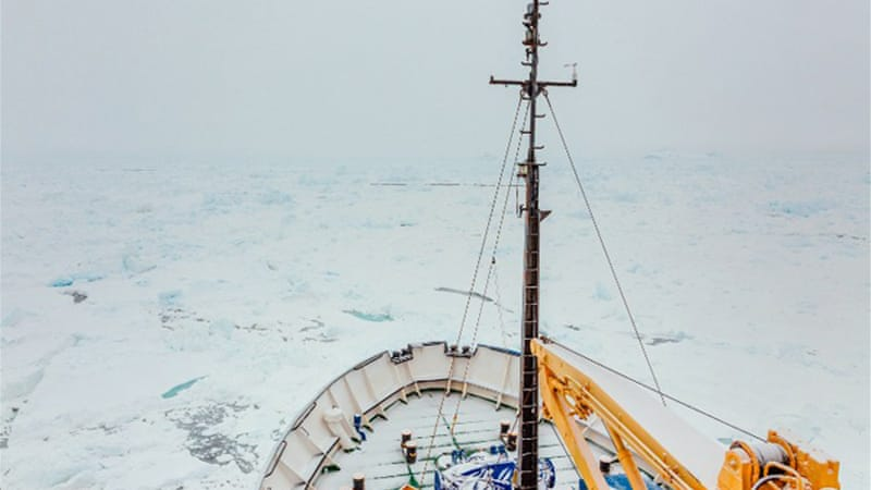 The Russian MV Akademik Shokalskiy, has been trapped in ice since Christmas Eve, December 24 [File: AFP]
