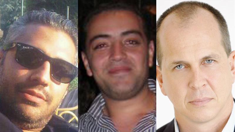 Mohamed Fahmy, Baher Mohamed and Peter Greste are among the four detained Al Jazeera journalists