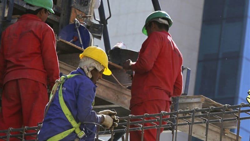 Qatar has sought to allay widespread concerns about conditions for migrant workers [Reuters]