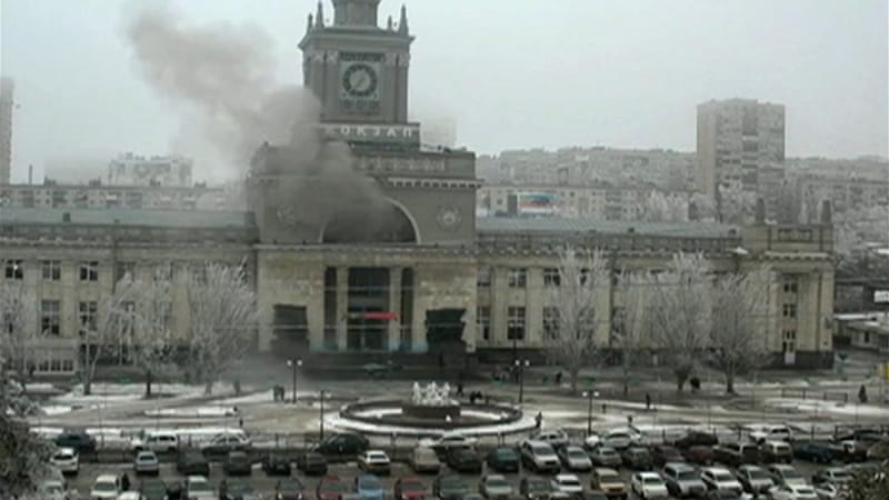 Nobody has officially claimed responsibility for the deadly bomb attacks in Volgograd [AP]
