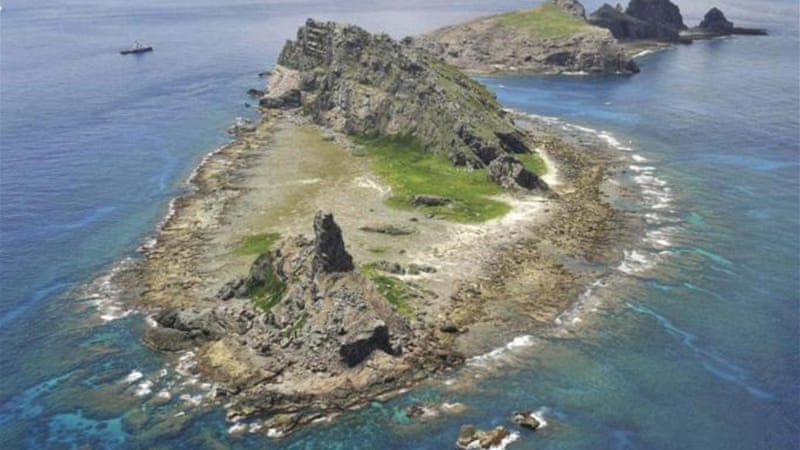 The islands known as Diaoyu in Chinese and Senkaku in Japanese have been claimed by both countries [Reuters]