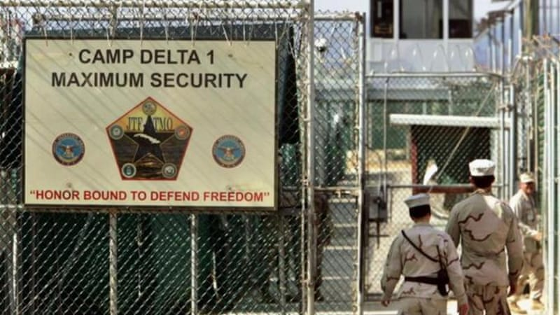 Seventy-one Guantanamo prisoners are undergoing a slow and uncertain review process  [AP]