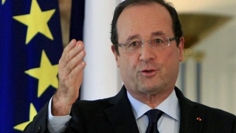 French President Francois Hollande visited Athens and expressed his sympathy with the unemployed and those suffering under the Troika-driven austerity programme [AP]