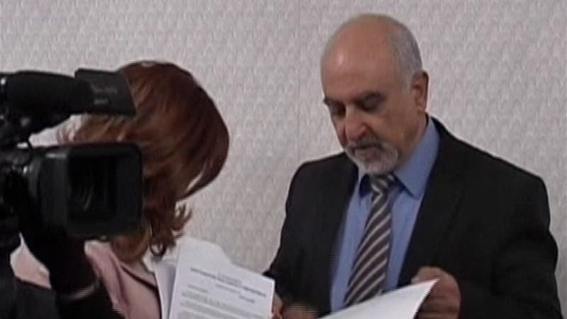 Hayrikyan, a former dissident, is leader of moderate opposition party, National Self-Determination Union [Al Jazeera]