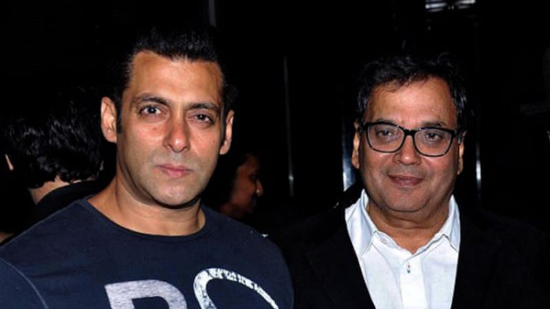Bollywood actor Salman Khan (left) has had several run-ins with the law but has remained free [AFP]