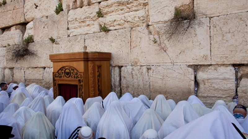 The Western Wall is venerated by Jews as the last remnant of the wall supporting the Second Temple [Getty Images]