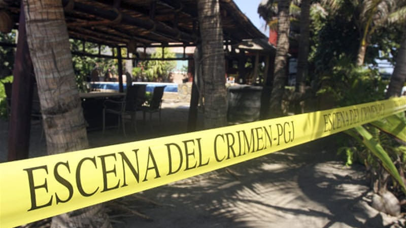 The incident deals a new blow for the resort of Acapulco, which has been the scene of violence in recent years [Reuters]
