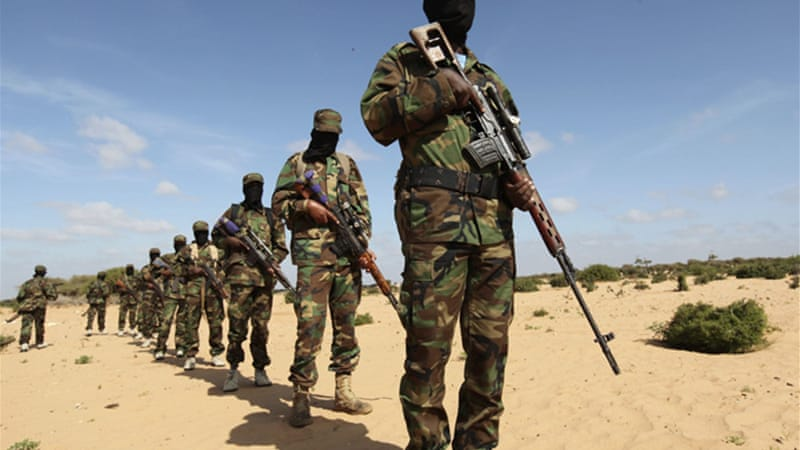 Al-Shabab, which associated itself with al-Qaeda last year, has been fighting Somali government since 2007 [Reuters]