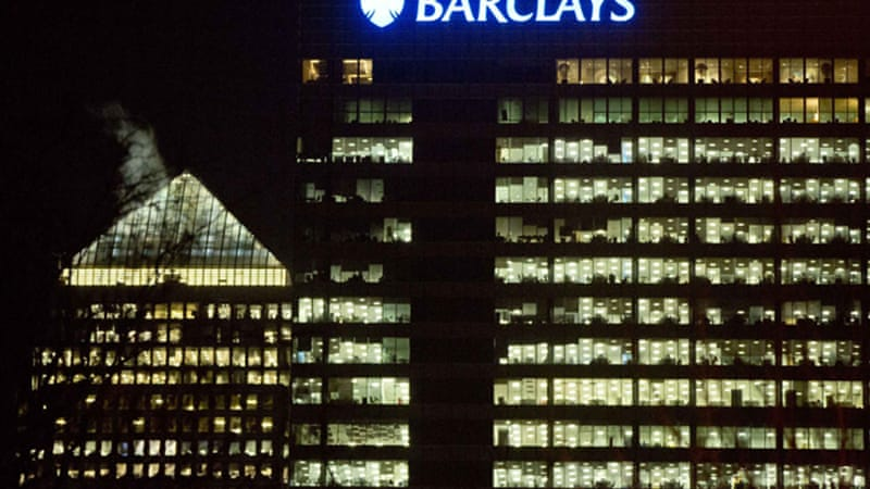 Britain's Barclays bank paid $450m in July 2012 to settle allegations that it had manipulated Libor rates [Reuters]