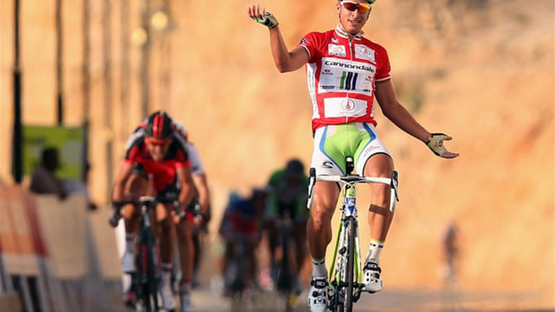Sagan wins stage three in the same spot where he claimed first win for Cannondale in 2012 [GETTY]