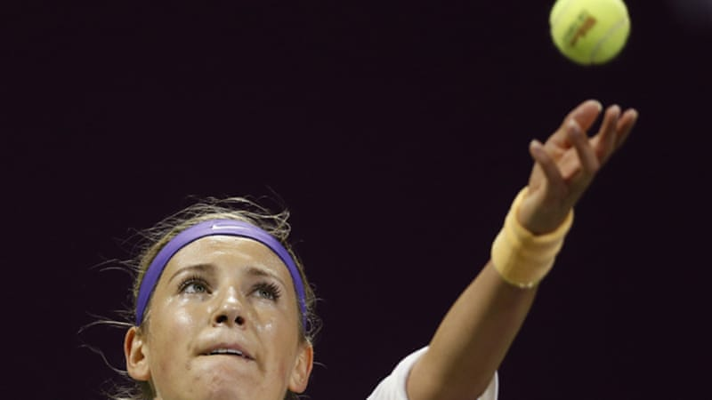 Australian Open champion Victoria Azarenka extended her unbeaten run in 2013 to 11 matches with victory over  Christine McHale [Reuters]