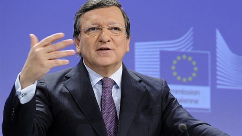 Barroso said that free-trade talks between the EU and US would set a standard for global partners [AFP]