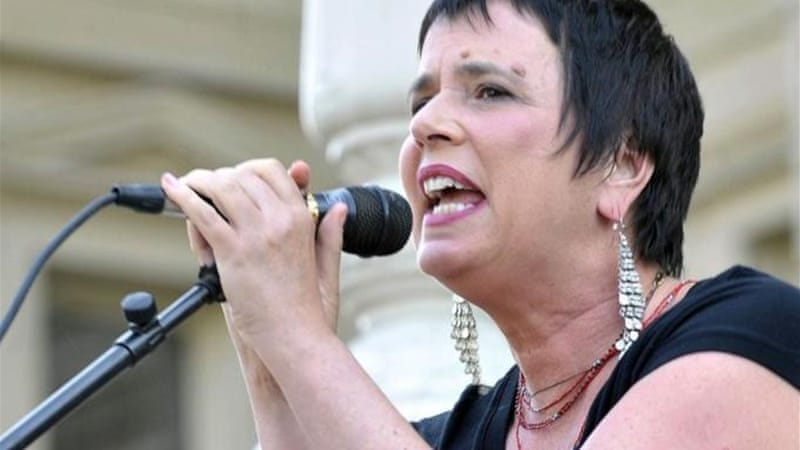 "Eve Ensler's ""One Billion Rising"" aims to spark the biggest global action against gender-based violence [AP]"
