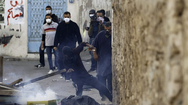 Bahrain has seen several days of protests in the run-up to Thursday's anniversary  [Reuters]