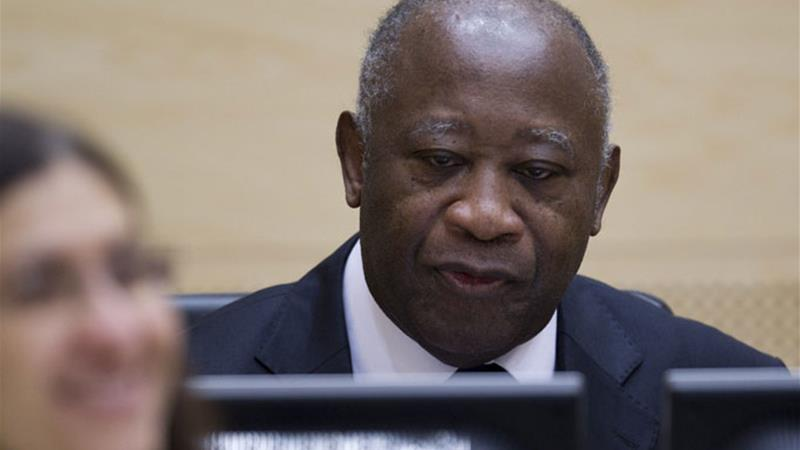 Gbagbo is at the International Criminal Court in The Hague facing charges of crimes against humanity [AFP]