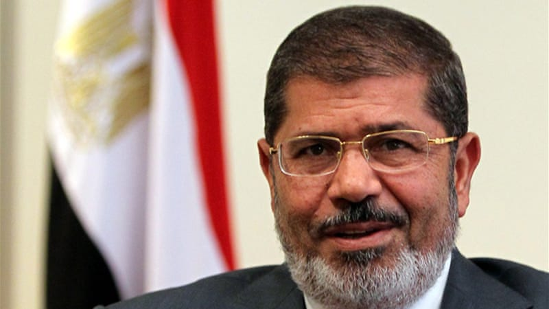 Egyptian President Mohamed Morsi is under fire from both the left and the right for upholding former President Hosni Mubarak's obliging approach to Israel, as well as for reasserting Mubarak's authoritarian bargain with the US [EPA]