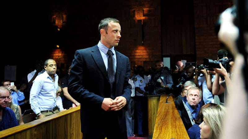 Pistorius shot Reeva Steenkamp at his home on February 14  [AFP]