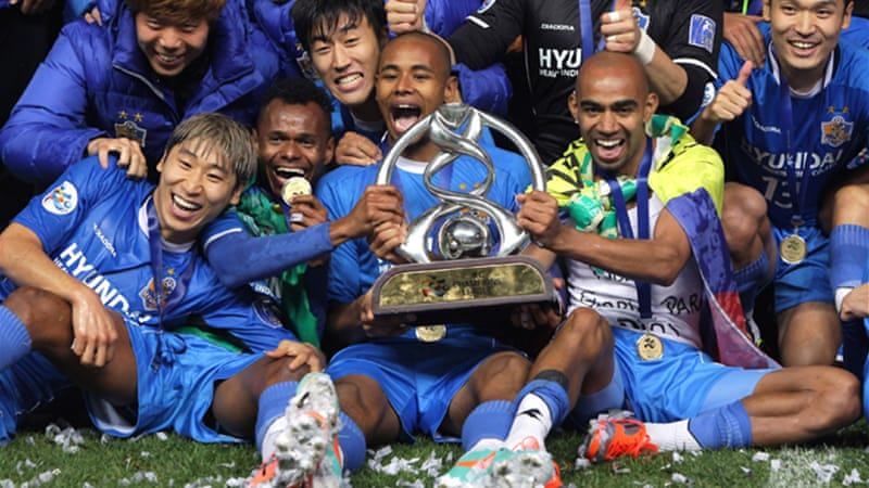 South Korea's Ulsan Hyundai won last year's edition, beating Saudi Arabia's Al Ahli to capture the crown, but critics say the tournament ignores much of the talent from South-east and South and Central Asia [GALLO/GETTY]