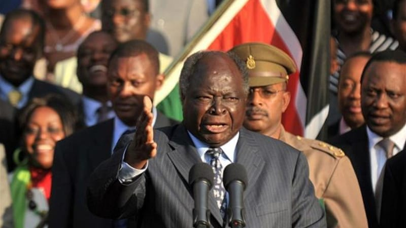 "President Mwai Kibaki had an opportunity to weaken ethnic politics but instead ""regressed to old tribal tricks"" [AFP]"