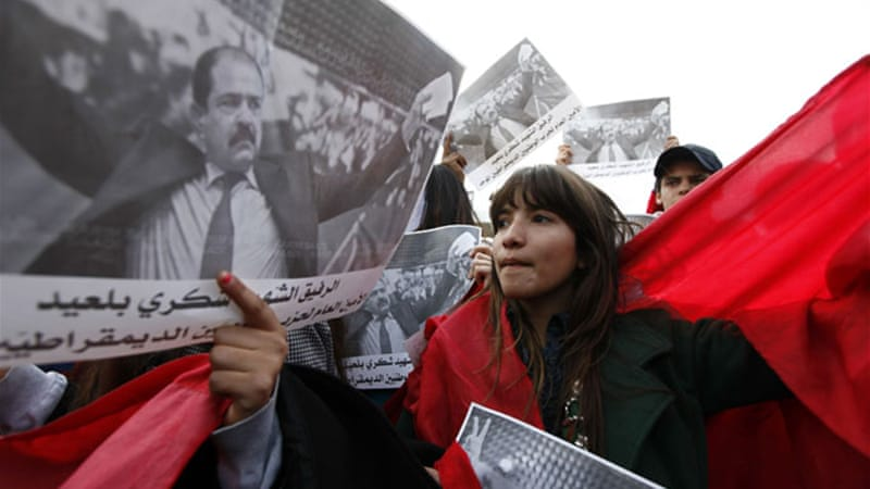 The assassination of Chokri Belaid triggered days of unrest as people took to the streets in Tunisia [Reuters]