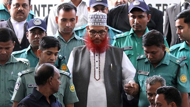 Jamaat-e-Islami had called for a day-long countrywide strike in anticipation of the verdict [AFP]