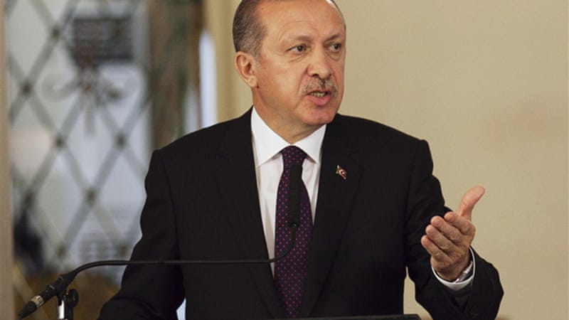 Erdogan became the first Turkish Prime Minister to officially acknowledge the existence of the Kurdish problem [EPA]