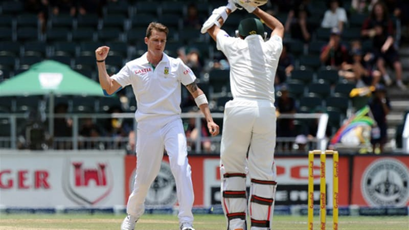 Steyn picked up five second innings wickets to finish with 11 for 60, his fifth 10-wicket haul [AFP]