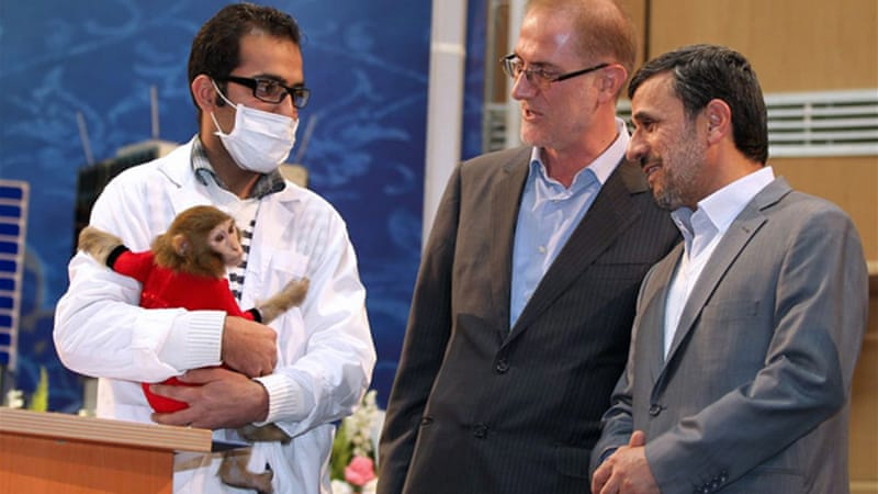Iran said it sent a monkey into space one week ago, returning safely to Earth [AFP]