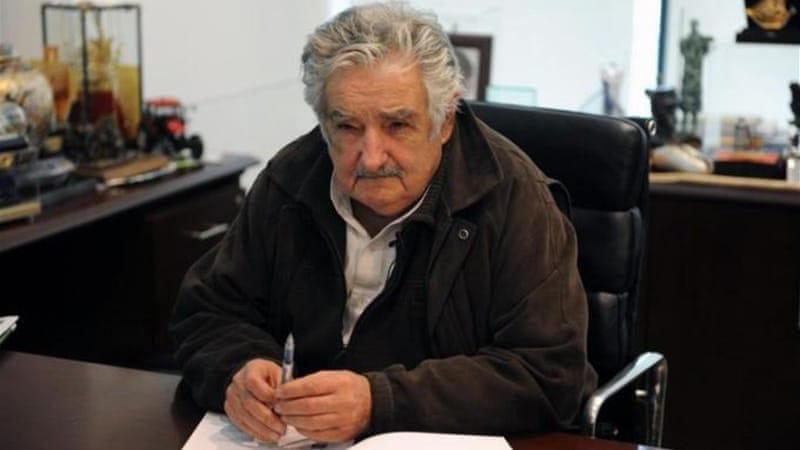 "Uruguayan President Jose Mujica laments that so many societies consider economic growth a priority, calling it ""a problem for our civilisation"" because of the demands on the planet's resources [AFP]"