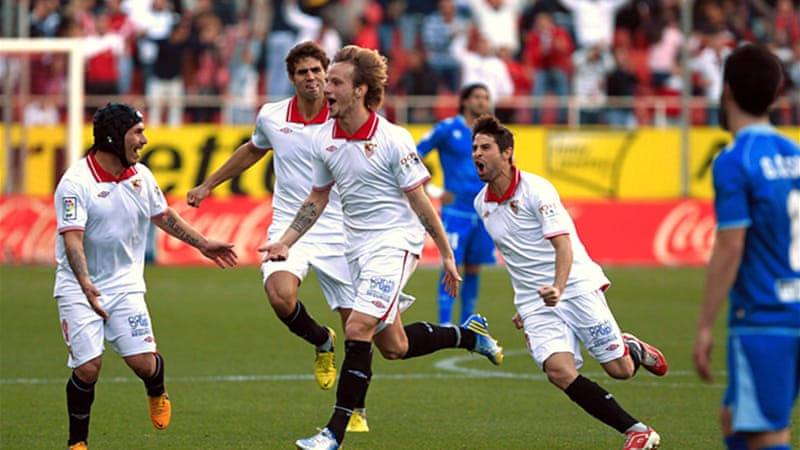 Last weekend Sevilla sealed three vital points against Rayo Vallecano, continuing their resurgence in the league [EPA]