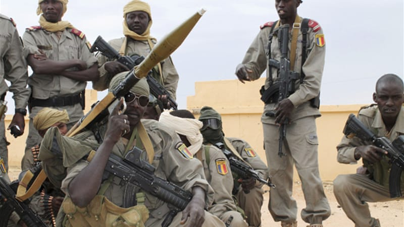 Chadian soldiers are part of a larger African force known as AFISMA  [Reuters]