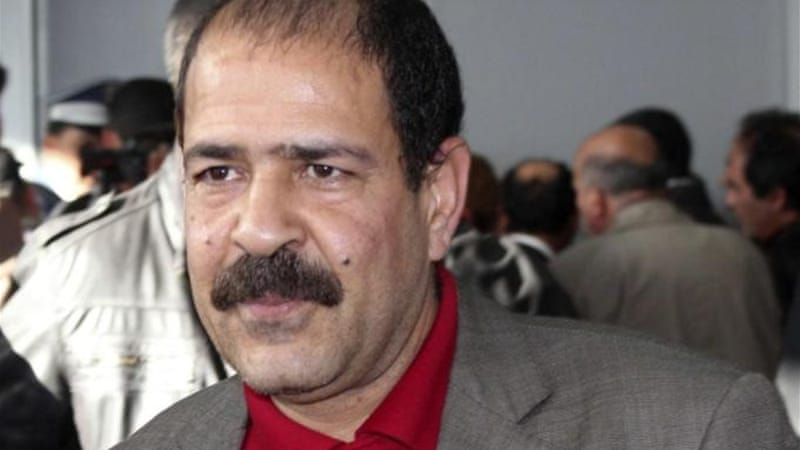 Belaid, a leftist lawyer, was shot outside his Tunis home by an assassin who fled on a motorcycle [Reuters]