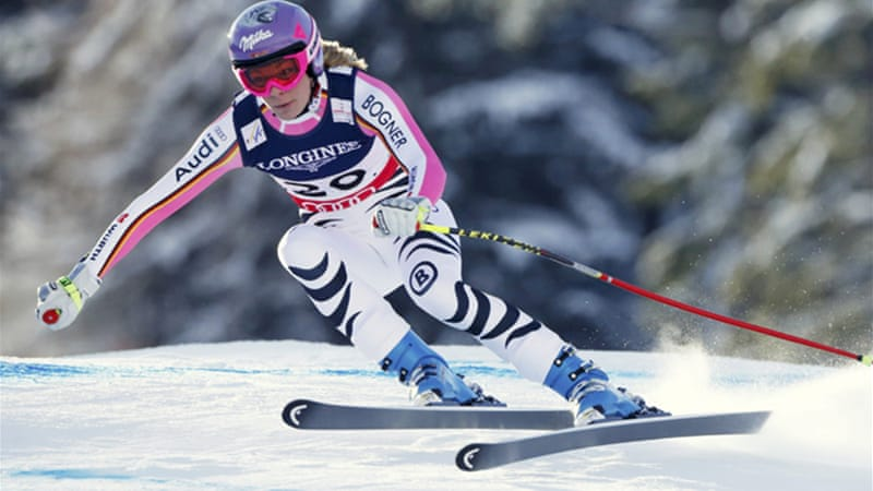 Hoefl-Riesch clocked an aggregate time of 2 mins 39.92 seconds from the morning downhill run and afternoon slalom to claim the title [Reuters]