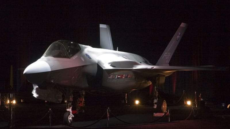 F-35 fighter jets have stealth capabilities and a top speed of 1,930km/h [US Department of Defence]