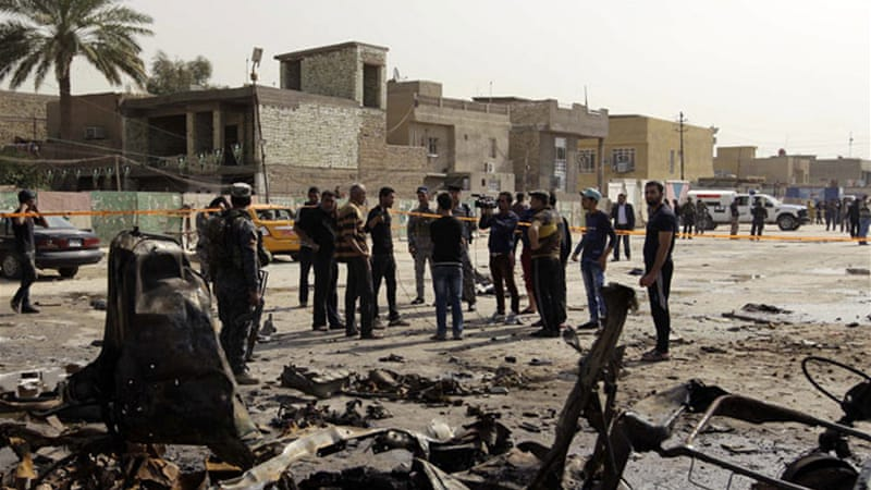 The latest violence comes one day after several people were killed in series of bombs and shooting attacks [AFP]