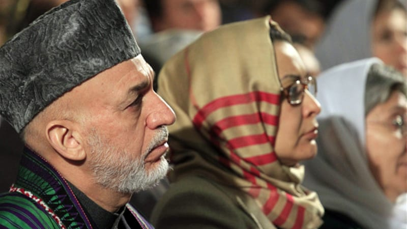 Karzai accuses US and Taliban of double speak