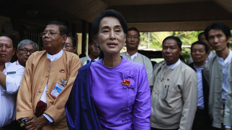 Myanmar's pro-democracy leader Aung San Suu Kyi was released from house arrest as part of reforms [Reuters]