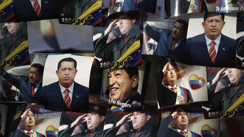 Venezuelan officials have accused the US of being responsible for the late President Hugo Chavez's cancer [Reuters]